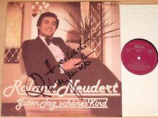 ROLAND NEUDERT - Guten Tag, schönes Kind  (AMIGA 1980 / mit AUTOGRAMM / LP vg++)