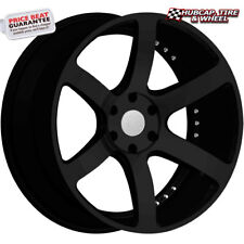 "Red Sport RSW115 Black 18""x7.5 Custom Wheels Rims (set 4) Free Shipping"
