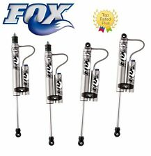 "10-16 Jeep Wrangler JK Fox Adjustable Reservoir Shocks Front/Rear 4-6"" Kits"