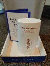 Native Paraben Free Coconut and Vanilla Deodorant