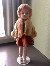 VINTAGE 1930s COMPOSITION R&B ARRANBEE DEBU'TEEN DOLL 17 INCHES TALL