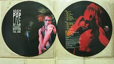 Iggy Pop Live at the channel Boston 1988 vol.1 PICTURE DISC LP REVENGE MIG 40p