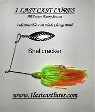 1 1//2oz Shellcracker Spinner Bait 1 Last Cast Lures