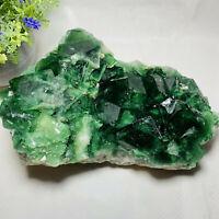 2760g NATURAL Green FLOURITE Quartz Crystal Mineral Specimen