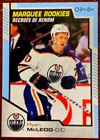 2020-21 UD Series 2 O-Pee-Chee Marquee Rookies Blue Ryan McLeod Edmonton Oilers