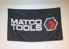Matco Tools Flag Automotive Garage Man Cave Banner 5X3FT
