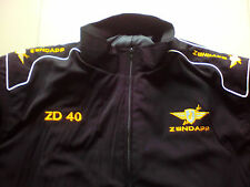 NEU ZÜNDAPP ZD 40 ZD40 Oldtimer Fan-Jacke schwarz veste jacket jakka jas giacca