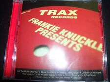 Frankie Knuckles ‎– Presents His Greatest Hits From Trax Records CD – Like New