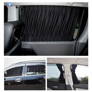 2pcs Car Auto Side Window UV Protection Curtain Car Slidable Window Shield