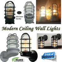 Modern Wall Vintage Retro Industrial Rustic Sconce Light Lamp Fitting Fixture