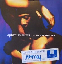 """EPHRAIM LEWIS - It Cant Be Forever ~ 7"""" Single PS"""