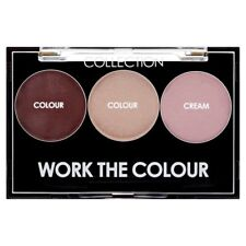 Collection Work The Colour Trio New Make Up Eyeshadow Powder + Cream Highlight