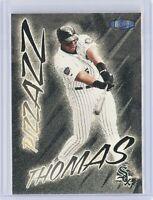 1998 Ultra #478 Frank Thomas (Pizzazz) White Sox HOF