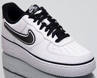 Nike Air Force 1 '07 LV8 Sport NBA Spurs Men New Low White Black AJ7748-100