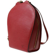 LOUIS VUITTON Mabillon Backpack Bag Red Epi Leather Vintage Authentic #8422 M