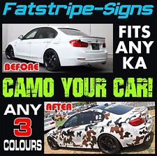 FORD KA MK1 GRAPHICS CAMO STICKERS DECALS CAMOUFLAGE VINYL STRIPES STREET SPORT