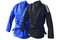 Adidas BJJ Gi Adults Kids Black Blue Uniform M0 M1 M2 M3 A1 A2 A3 A4 Jiujitsu