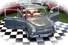 Fiat 600 Oldtimer und Rarität grosser Bruder des Fiat 500