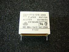 Vishay AC Suppression Capacitor Class X2 AC 275V (MKT) 1uF 275V 10%  *NEW* 1/PKG