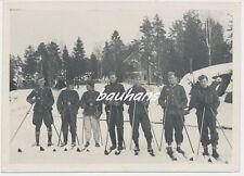 Foto Wehrmacht Soldaten-Schneeschuh 2.WK  (a600)