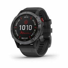 Garmin Fenix 6 Pro 47mm Plastic Black Case Band GPS Watch (0100241014)