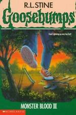 Monster Blood III (Goosebumps, No. 29) by Stine, R. L.