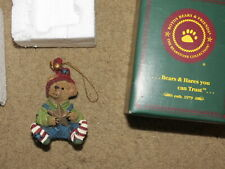 Adorable Boyds Bears & Friends Bear-A-Star Christmas tree/holiday ornament 2000