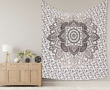Indian Fancy Mandala 100% Cotton Tapestry Wall Hanging Hippy Beach Print Throw