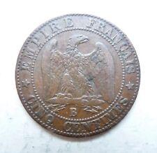 NAPOLEON III 5 centimes 1856 B