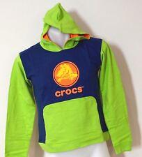 Crocs Boys Hoodies - GREEN & NAVY BLUE  - SIZES 4,5,8 & 10 - NEW