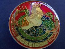 1977 Poseidon GAMES CHILDREN PLAY Multi-Color High Relief Mardi Gras Doubloon