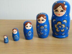 "Set of Five ""RUSSIAN DOLLS"""