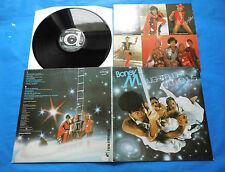 Boney M. NIGHT FLIGHT TO VENUS, LP Vinyl EX+ /+Post Cards, Electronic Disco Funk