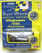 NIP 2001 MOTORMAX Super Wheels 1/64 Diecast Silver Panel Cruiser-Walgreen 100th-