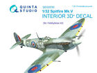 Quinta QD32030 1/32 Spitfire Mk.V 3D-Printed Interior for Hobbyboss kit