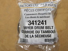 "OEM GENUINE FSP KENMORE SEARS CLOTHES DRYER 92"" 4 RIB BELT PART # 341241"