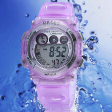 OHSEN digital Watch for Girls kids Purple Alarm Shipping from Mel