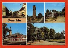 Genthin Saxony-Anhalt GDR more image-AK etc. plauer channel, Eagle-Pharmacy, Tower