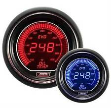 Prosport Evo Series 52mm Digital Oil Temperature Gauge Blue & Red with Sensor