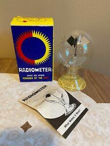 Vintage Radiometer Space Age Sphere Solar Engine Disney Science Toy Sun Powered