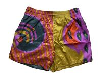 Vintage Hom Mens Board Shorts Size XL Beach 90s Bright Loud Surfing Sports Mambo
