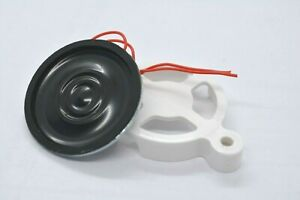 Magnet Speaker 8.0 Ohm 0.5W 30mm White Cover/Clamp great for ARDUINO electronic