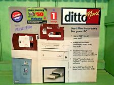 Iomega Ditto Max 10608 With Flash File Tape Drive DX Acelerator Software