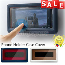 Universal Waterproof Bathroom Toilet Shower Phone Holder Case Cover Wall Mounted