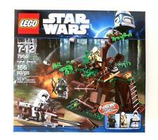 LEGO STAR WARS SET 7956 EWOK ATTACK RETIRED NEW FACTORY SEALED