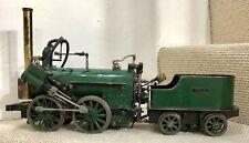 """Vieille vapeur vive INVICTA Train Locomotive Modèle à l'échelle vapeur vive. Gauge 3.5"""""""