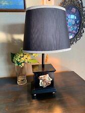 Beautiful Vintage Lamp Musical Gold Black  Decorative Gold Tone