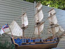 Wooden Model Ship Peregrine 1741 16 Gun Sloop Sailing Boat Impressive