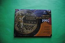 LIBRO + DVD SELECCION ESPAÑOLA DE FUTBOL ORO EN JUEGOS OLIMPICOS BARCELONA 92