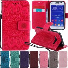 Flip Leather Wallet Card Case Cover For Samsung Galaxy Core Prime /Grand Prime